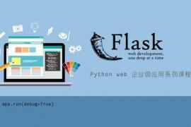 Flask Python Web 网站开发_Python Web 企业级开发系列视频教程