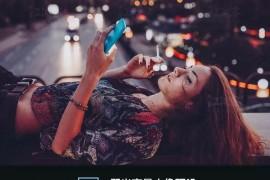 【ps/lr预设】弱光提亮街拍人像夜景后期修图调色滤镜