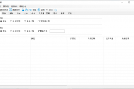 多种文件批量操作 仅为800kb的免费小工具 火苗文件名批量重命名工具