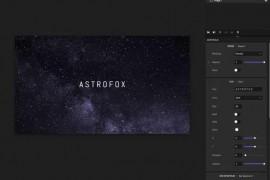 [21406]音乐转换可视化视频开源工具 Astrofox 将音乐处理成可视化动态效果并导出成视频的开源工具