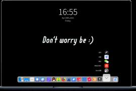 [21515期]Windows系统中的停靠栏工具 比特工具栏BitDock V1.9.5 一款运行在Windows上的极简工具栏