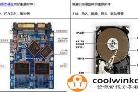 固态硬盘与普通机械硬盘的区别