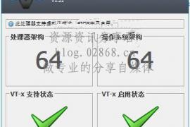 leomoon-cpu-v 中文版检测是否开启VT(INTEL虚拟化技术)