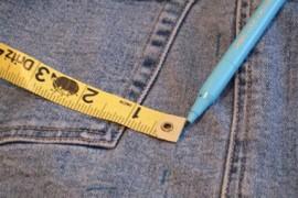 牛仔裤旧物改造:旧牛仔裤改造钱包