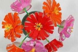 一次性纸杯手工制作:DIY彩色雏菊