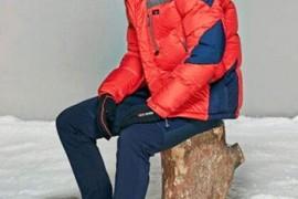 男士冬季服装搭配 羽绒服个性搭配示范