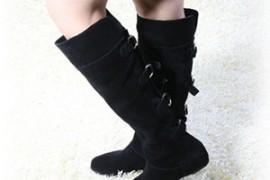 靴子怎么搭配?及膝长靴打造冬季时尚!