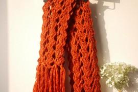围巾系法:礼物型围巾系法图解