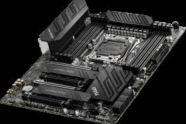 微星第十代酷睿i9 CPU的X299主板,为英特尔的新HEDT CPU做准备