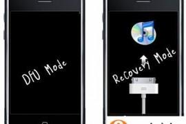 iPhone如何退出dfu模式?苹果退出dfu模式的两种方法