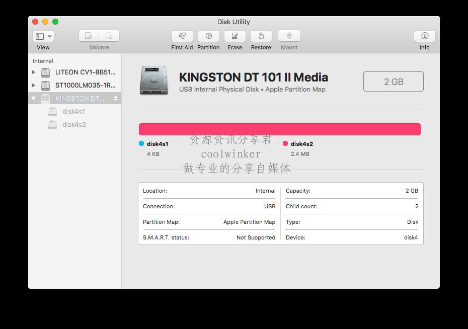 macOS使用「dd命令」制作 Ubuntu 安装USB盘