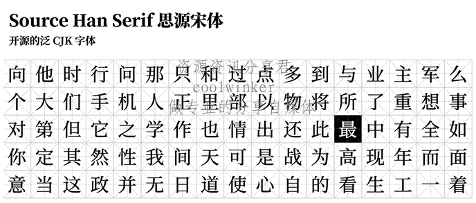 5款免费可以商用的优秀「中文字体」下载