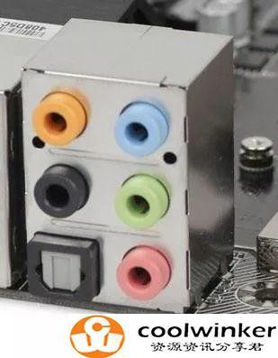 详细讲解台式电脑上的常用的几个接口!